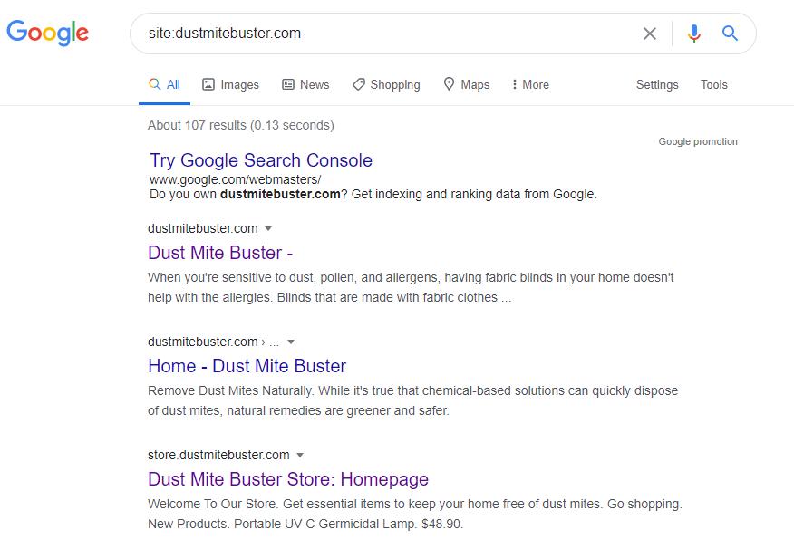 Indexation on Google