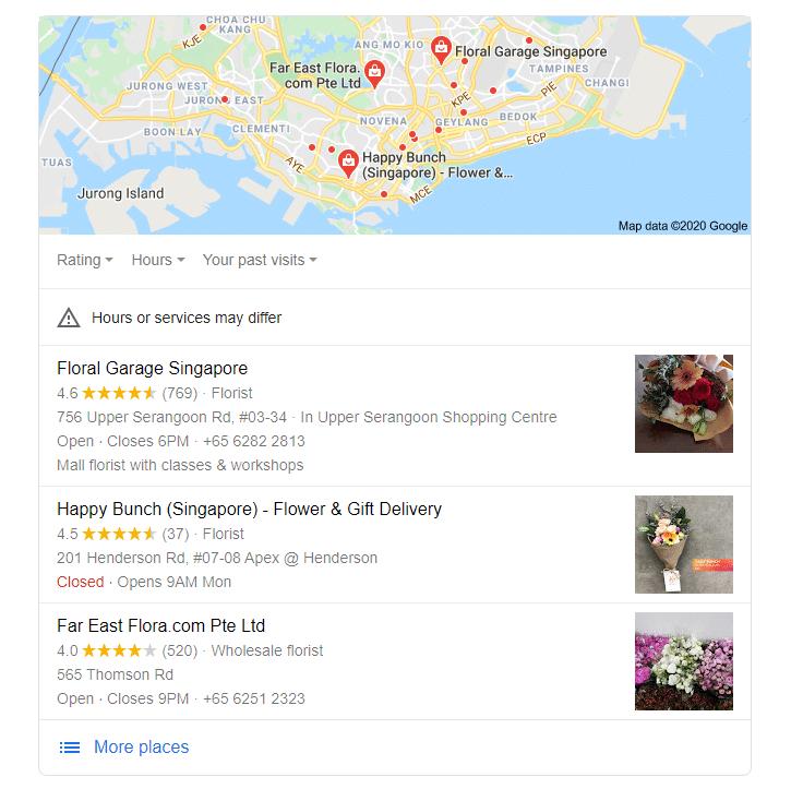 GMB listing